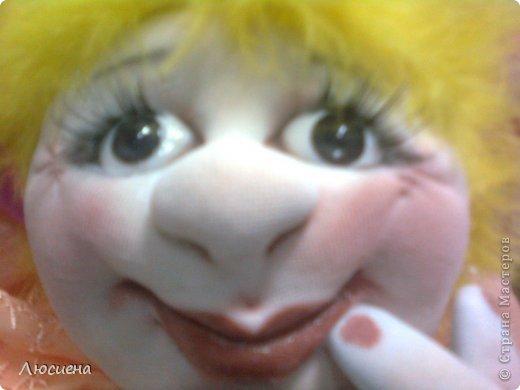 кукла ручной работы попик РОЗА фото 6