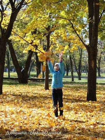 Я очень люблю золотую осень! Возможно потому, что в октябре у меня день рождения! А возможно потому, что природа наполнена такими яркими красками! Не знаю почему, но именно в это время года на душе мне становится очень хорошо, спокойно...  фото 13