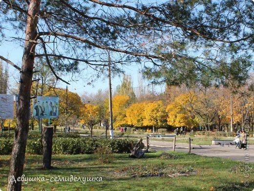 Я очень люблю золотую осень! Возможно потому, что в октябре у меня день рождения! А возможно потому, что природа наполнена такими яркими красками! Не знаю почему, но именно в это время года на душе мне становится очень хорошо, спокойно...  фото 7