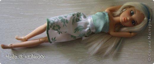 Сшила на днях платьице по колено из шелка.))) фото 5