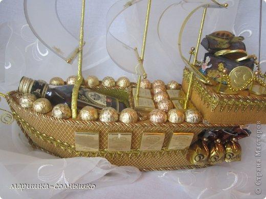 золотой кораблик фото 2