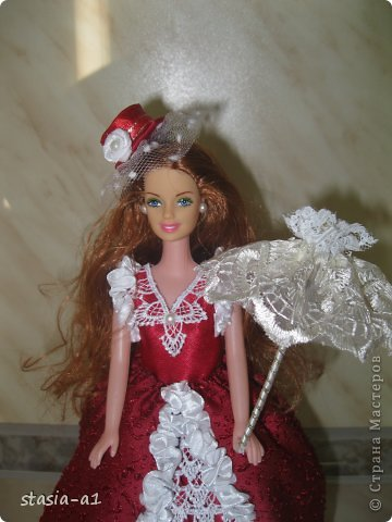 Полюбились мне куколки шкатулочки не могу остановиться их делать. Вот и родилась очередная куколка. фото 1