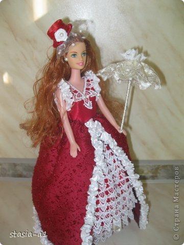 Полюбились мне куколки шкатулочки не могу остановиться их делать. Вот и родилась очередная куколка. фото 4