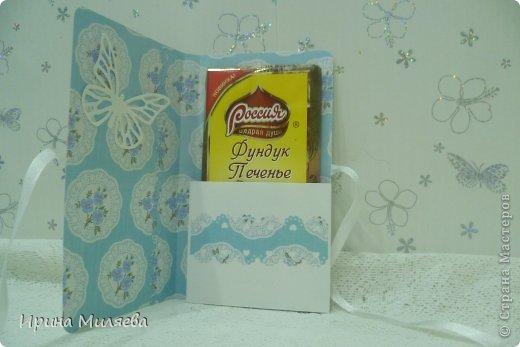 Привет девочки! Сотворились у меня в подарок скромненькие шоколадницы, без излишеств и наворотов. фото 6