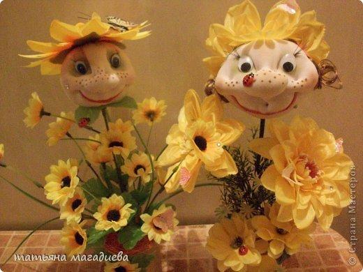 Вот такие 2 солнечные девчушки у меня появились))))) фото 2