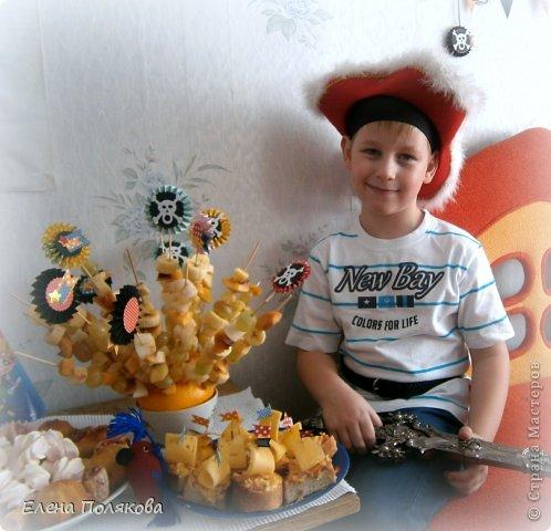 А у нас вчера была ... Пиратская вечеринка! в честь Алешиного семилетия!!! фото 5