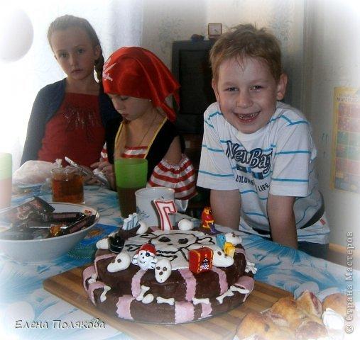 А у нас вчера была ... Пиратская вечеринка! в честь Алешиного семилетия!!! фото 11