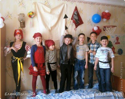А у нас вчера была ... Пиратская вечеринка! в честь Алешиного семилетия!!! фото 6
