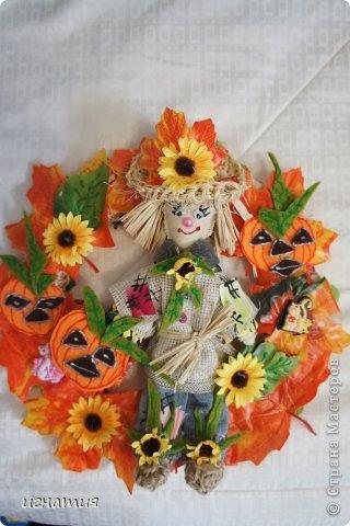 венок на хеллоуин фото 1