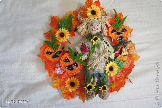венок на хеллоуин фото 2