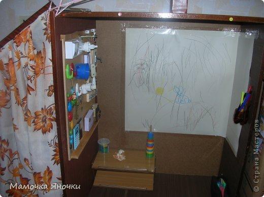 Здравствуйте! Вашему вниманию представляю игровой комплекс, сделанный из старого трехстворчатого шкафа) фото 11