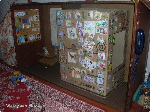 Здравствуйте! Вашему вниманию представляю игровой комплекс, сделанный из старого трехстворчатого шкафа) фото 8