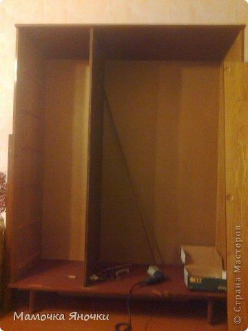 Здравствуйте! Вашему вниманию представляю игровой комплекс, сделанный из старого трехстворчатого шкафа) фото 2