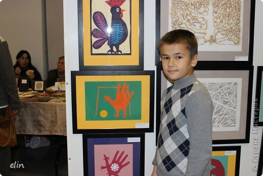 Доброго времени суток! Уже много хороших репортажей с выставки Бумпром представлены вашему вниманию, и мы там были 19 октября, с подругой и детьми. Этот день был объявлен днем Страны Мастеров, с грандиозным арт-проектом Древо творчества. фото 8