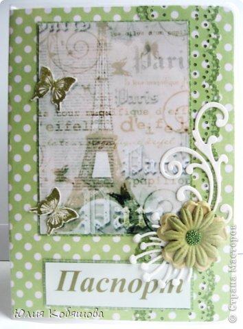 Это снова я. Хочу показать вам сегодня еще обложки на паспорт, которые сделала на днях. Первая. фото 5