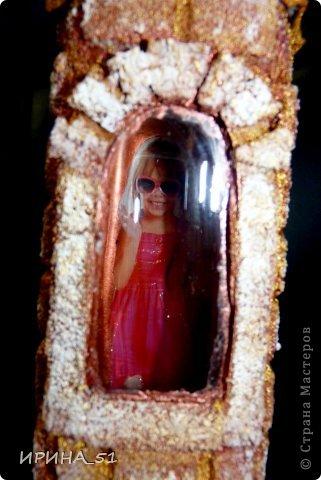 Бутылочка - башенка, в которой живет...девочка! фото 5