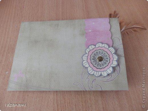 Наделались пара открыточек с птичками и конвертик. фото 6