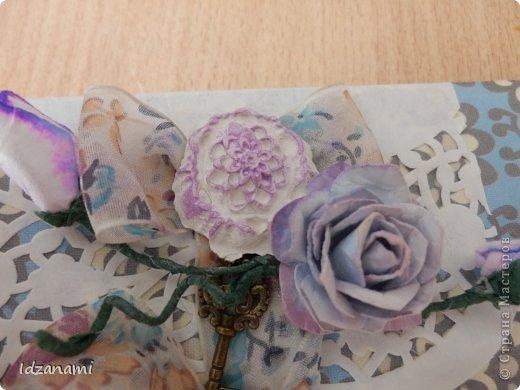 Наделались пара открыточек с птичками и конвертик. фото 8