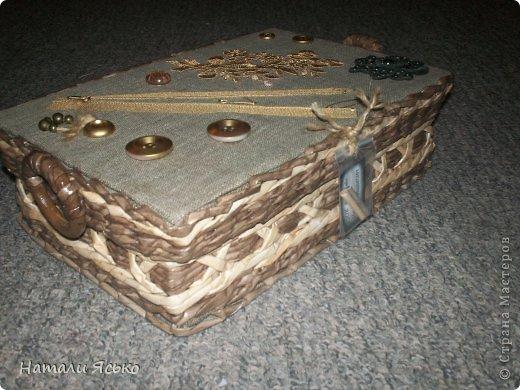 Шкатулка и коробочка для специй. фото 1
