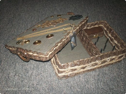 Шкатулка и коробочка для специй. фото 2