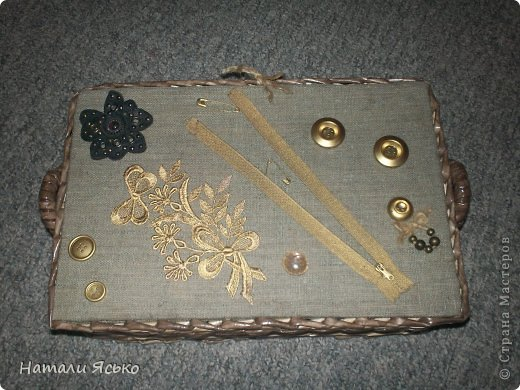 Шкатулка и коробочка для специй. фото 3