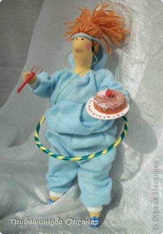 Кукла Тильда толстушка Спортивная фото 1