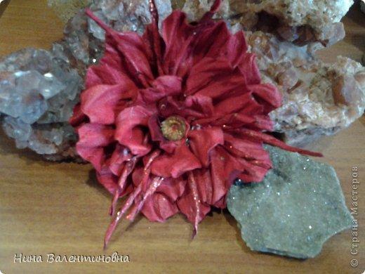 Цветок. Брошь фото 3
