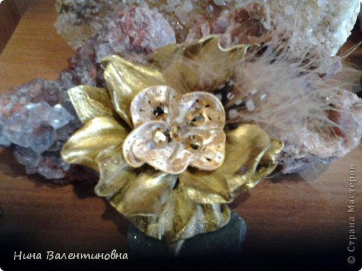 цветок Золотой. кожа фото 3