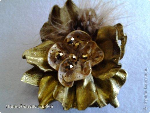 цветок Золотой. кожа фото 1