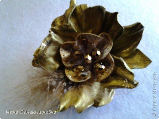 цветок Золотой. кожа фото 5
