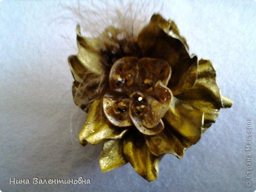 цветок Золотой. кожа фото 4