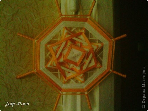 Мандалы... еще ихназывают паутинки на детских кружках... а у нас в доме к ним пришлось имя - Солнышки :-) фото 2