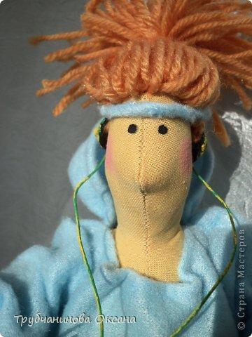 Кукла Тильда толстушка Спортивная фото 4