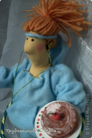 Кукла Тильда толстушка Спортивная фото 6