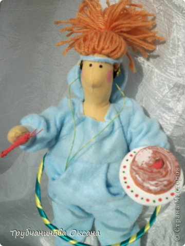 Кукла Тильда толстушка Спортивная фото 7