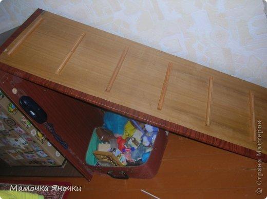 Здравствуйте! Вашему вниманию представляю игровой комплекс, сделанный из старого трехстворчатого шкафа) фото 16