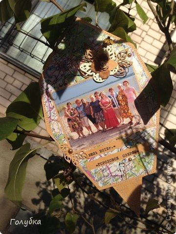 Очень хотела сделать подарок/сюрприз для своих друзей и отправить листок на выставку, но... Круговерть забот так закружила, что просто забыла вовремя сбегать на почту. Поэтому приму участие в виртуальном проэкте:) фото 7