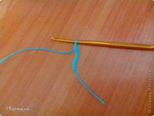Недавно научилась вязать крючком, на уроке технологии мы делали оригиные цветочки, хочу показать и вам как их делать. фото 2