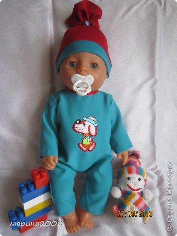 Одежда для кукол BABY BORN.Подходит для кукол-пупсов ростом 40-43см.Вся одежда выполнена вручную из натуральных качественных тканей!!!Каждая девочка будет рада такому подарку! фото 21