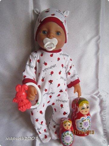 Одежда для кукол BABY BORN.Подходит для кукол-пупсов ростом 40-43см.Вся одежда выполнена вручную из натуральных качественных тканей!!!Каждая девочка будет рада такому подарку! фото 22