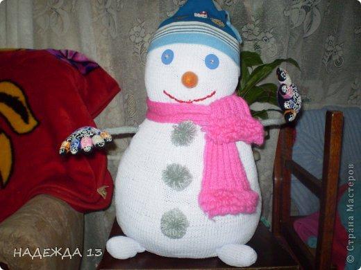 снеговик - почтовик фото 1