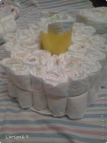 Вот такой получился тортик на день рождения дочки племянника. фото 4