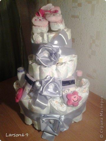 Вот такой получился тортик на день рождения дочки племянника. фото 6