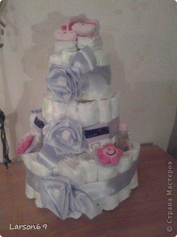 Вот такой получился тортик на день рождения дочки племянника. фото 7
