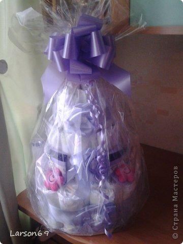 Вот такой получился тортик на день рождения дочки племянника. фото 8