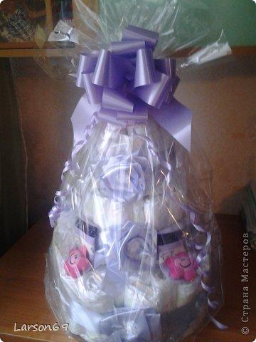 Вот такой получился тортик на день рождения дочки племянника. фото 1