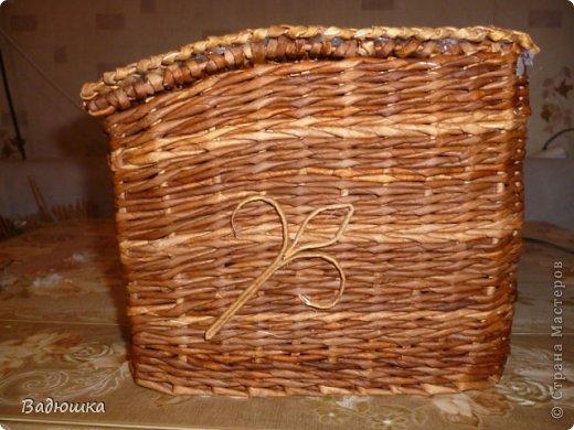 Заказали мне вот такую хлебницу .Сплела спешу вам показать фото 3