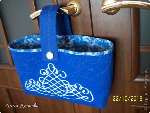 Вот такая корзиночка у меня вышла для разных мелочей по рукоделию фото 1
