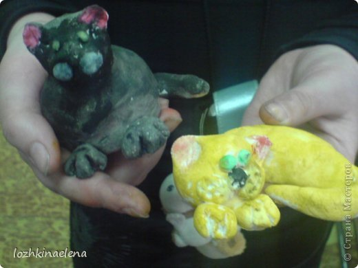 детские работы: кошечки, коты и котята фото 5