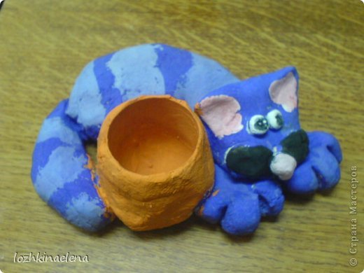 детские работы: кошечки, коты и котята фото 7